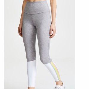 Onzie Olympian Rainbow Stripe Grey Leggings S/M